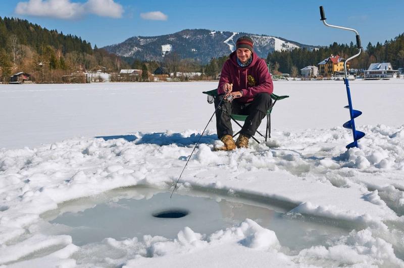 Eisfischen Österreich